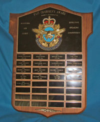 Past Chairmen's Award