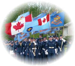 Air Cadet Flags Flying