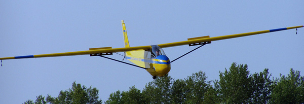 One of Manitoba's Air Cadet gliders